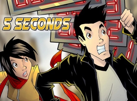 5 Seconds, Kickstarter, Jake, Ellie, graphic novel, viral, sexy, hot