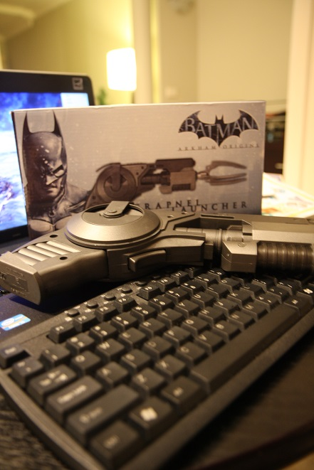 Batman, Grapnel Gun, Lucius Fox, Begins, Quote, Arkham Origins, Game