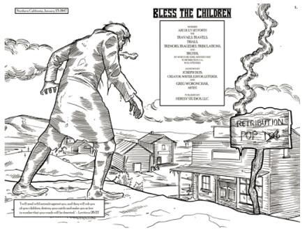 Kickstarter, Joseph Duis, Bless the Children