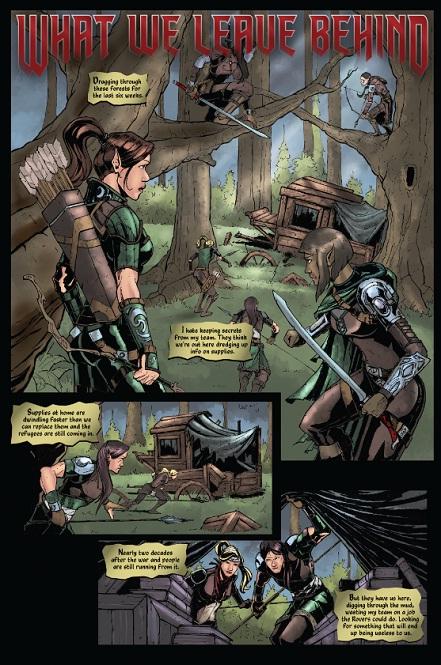 Kickstarter, From the Ashes, Dan MacKinnon, MtG, Garruk, artwork