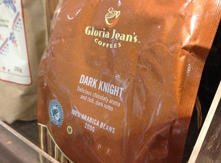 Dark Knight, coffee beans, gloria jeans, aroma