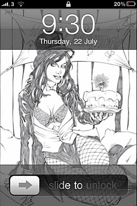Zatanna, Sexy, wallpaper, sketch, Dean Juliette, iphone, home screen, lock screen, iOS4, 3GS, 4G
