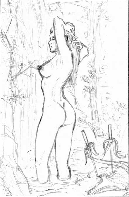 Elektra Shower Sketch