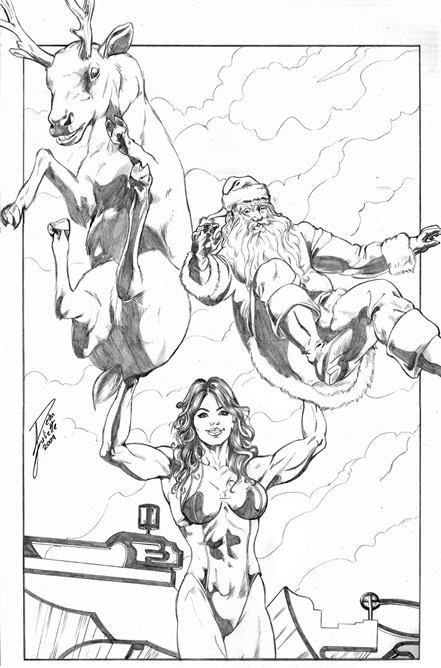Christmas Death Supergirl Powergirl Mary Jane She Hulk