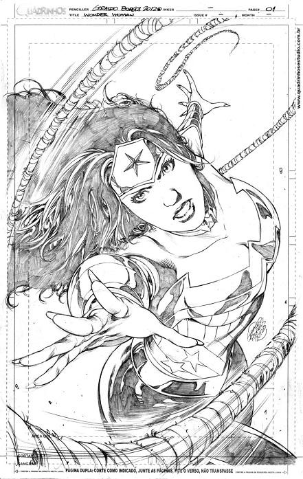 WW, BBWW, BBW, Artbook, NYCC, Geraldo Borges, artwork, sexy