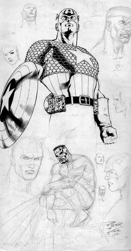 Captain America, Hulk, Ultimates, Falcom, Character Study, Sexy