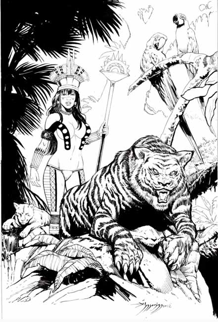 Di Amorim, Yanomami Warrior
