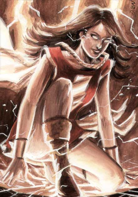 Mary Marvel ACEO