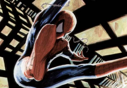 spiderman, spider-man, alex ross