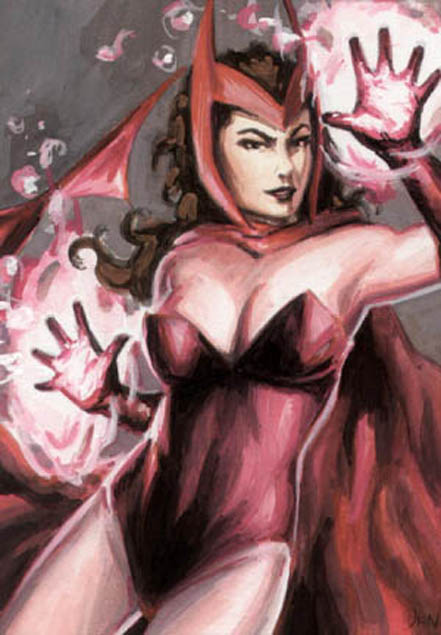 Iron Man Scarlet Witch Marvel Comics