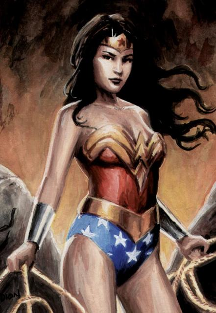 iPhone, wallpaper, home screen. lock screen, iOS4, wonder woman, bbww, bbw, dion hamill, sexy, DC