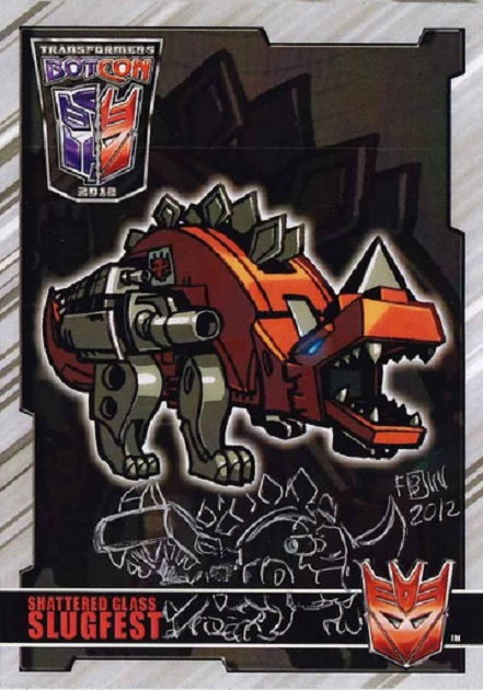 Ratbag, Slugfest, Transformers, movie, Optimus Prime, BotCon, Chase Card, ACEO