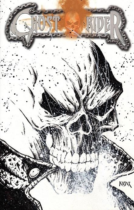 Ghost Rider, Venom, Frank Kadar, eBay, sketch covers