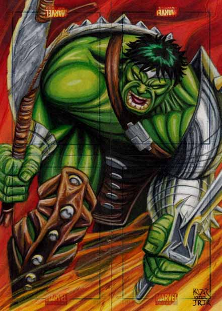 Hulk, Marvel Universe, Artist Proof, I am always angry