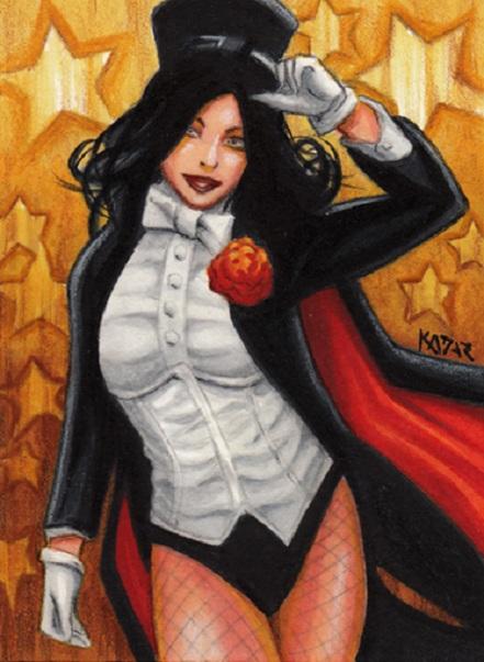 Zatanna, Frank Kadar, artwork, sexy, DC Comics