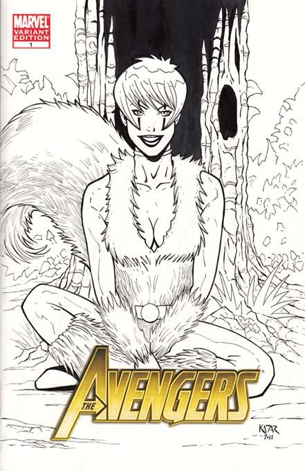Ms Marvel, Avengers, 2012, trailer, Samuel L Jackson, artwork, Spider-Woman, spiderwomn, Ms Marvel, Squirrel Girl, cbr , cbz