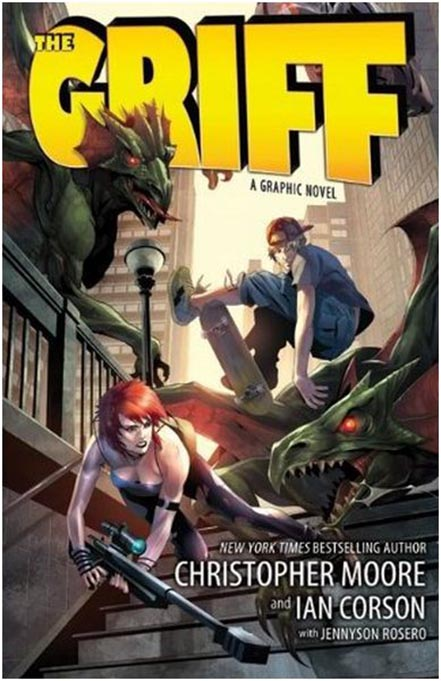 The Griff, Griff, Christopher Moore, Ian Corson, Jennyson Rosero, artwork, graphic novel, review