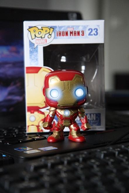 Iron Man, Iron Man 3 , ironman, pop!, marvel, Mark 42, 23, vinyl figure