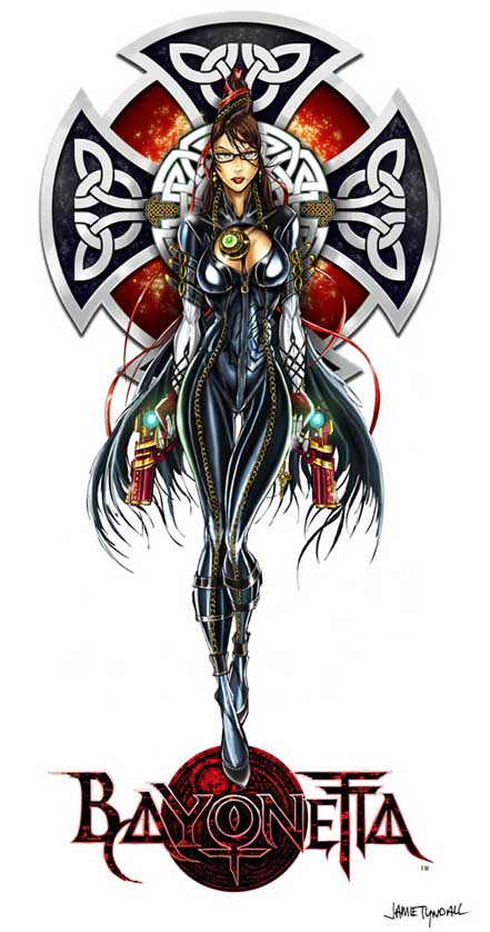 Bayonetta Coloured