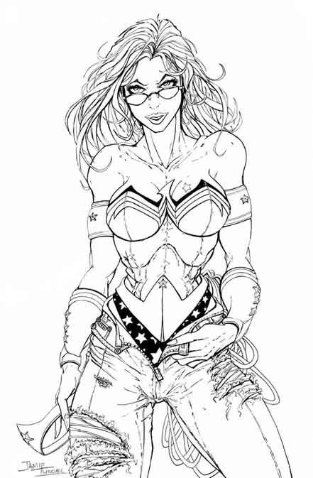 Wonder Woman - Sketch