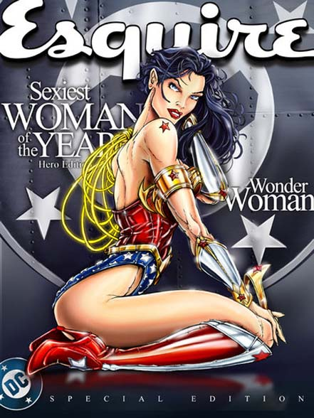 Esquire,Wonder Woman, Rolling Stones, sexy, ww, bbww, bbw, hot, magazine