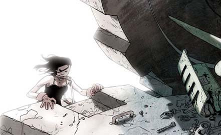 Jason Brubaker, Graphic Novel Art