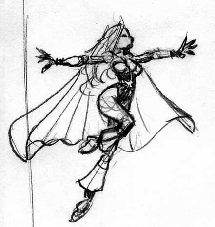 Flare Sketch