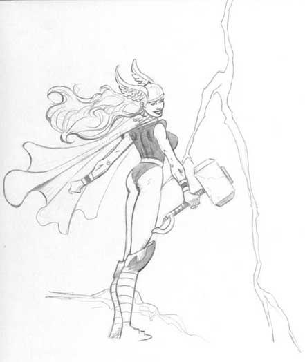 Thor Pencils