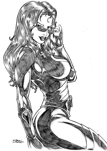 Baroness Phoenix Wonder Woman BBWW bbw ww Poison Ivy