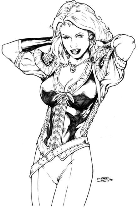 sojourn, kirk lindo, sexy, hot, batgirl, robin