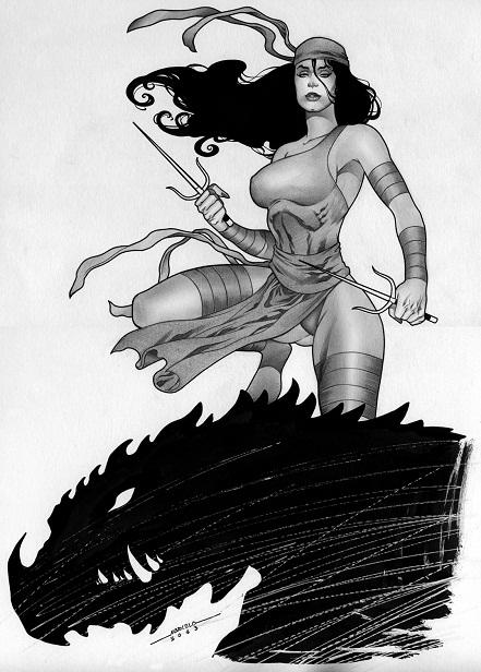 Elektra, Marcelo Mueller, sexy, artwork, artist