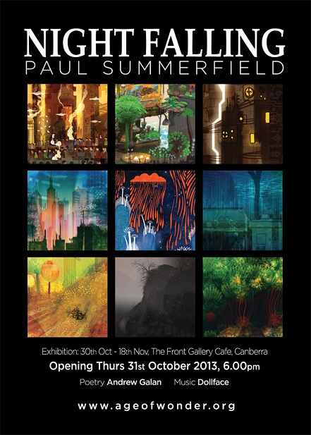 Age of Wonder, Paul Summerfield, The Front Gallery Cafe