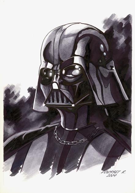 Darth Vader, Phoenix, Tygra, Rémi Dousset, sketch, artwork, artist, sexy