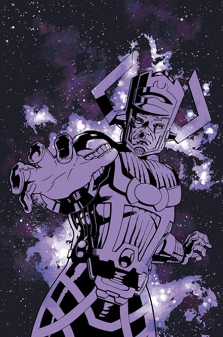remi dousset, artwork, galactus, silver surfer, tutorial, drawing, colouring