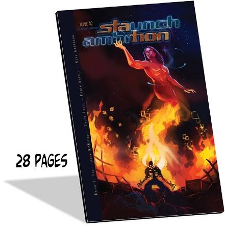 Brian Lau, Staunch Ambition, Kickstarter, Erwin J Arroza