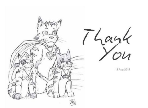 Kickstarter, Tabby, P.R. Dedelis, artwork, Wall of Fame, Thanks