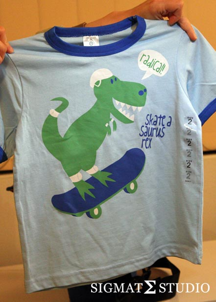 Skateasaurus, cute, kids, clothing, design, dinosaur, T-shirt, rex