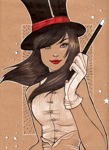 Zatanna, Cinderella, Fables, Fables are Forever, Chrissie Zullo, Cover, Fables cover, artwork