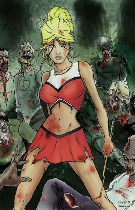 Zombies, Cheerleaders, Buffy, blood, sexy, brains